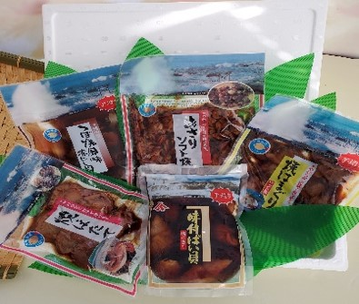 AN019_<お中元熨斗付>煮貝詰め合わせ