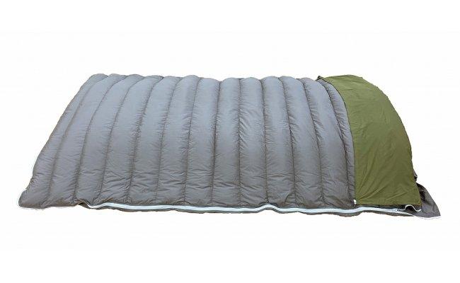 羽毛マルチ一体型寝袋 RE-SLEEP ZooM (Sサイズ120cm×210cm)羽毛布団 日本製