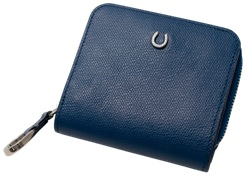 [PT-25] SOMES PT-25 2つ折財布(ブルー)