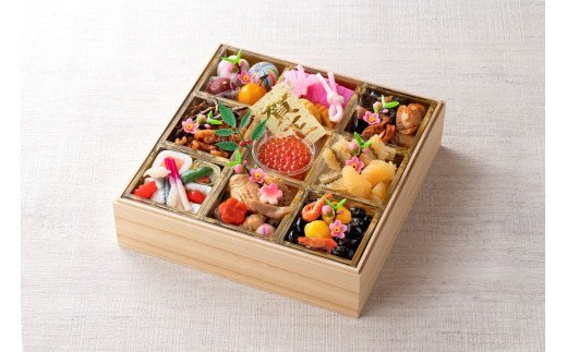 名鉄小牧ホテルのおせち料理(和風一段)冷蔵 32品 2~3人前 2022年 [018M04]