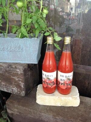 【ふるさと納税】本物のトマトの味がする! 無添加・無塩 旬熟 いずみのトマトジュース 720ml×4本※2021年7月末より順次発送となります