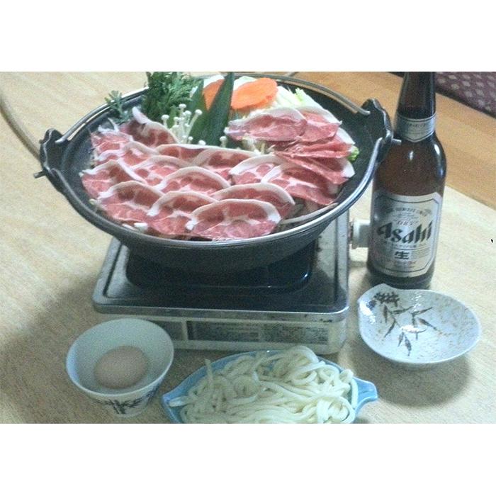 B-5 大ボリューム! しし鍋セット食事券(1人前)