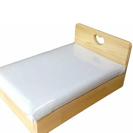 020C076 手作り木製 お人形用ベッド