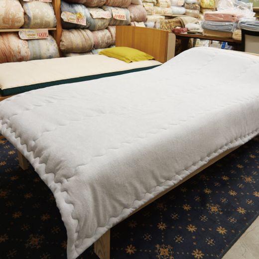 温泉綿入りタオルケット 「お日様のチカラ」シングルサイズ140cm×200cm【ピンク】