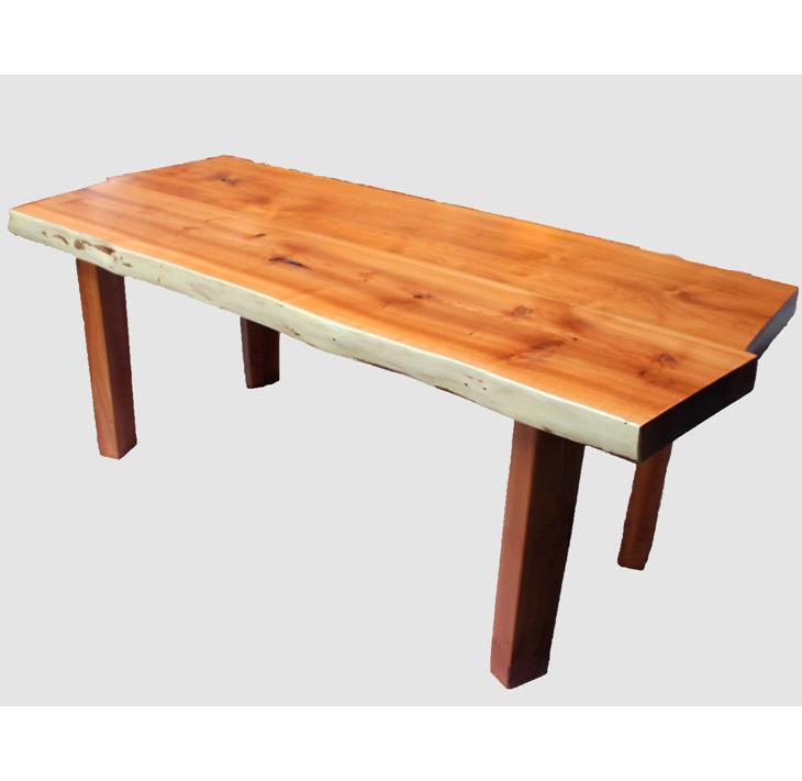 [33]座卓(テーブル)オンコ(イチイ)・一枚天板【厚さ約4cm】