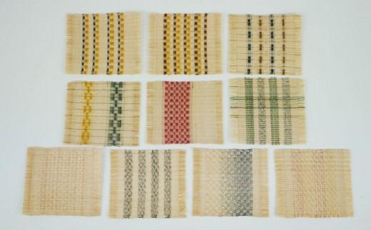 【芭蕉布工房うるく】芭蕉布コースター(2枚)