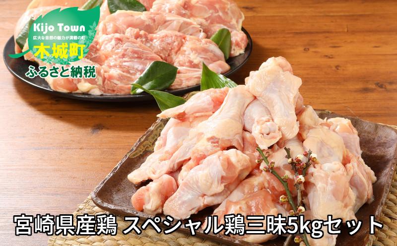 K16_0017_1 <宮崎県産鶏 スペシャル鶏三昧5kgセット>