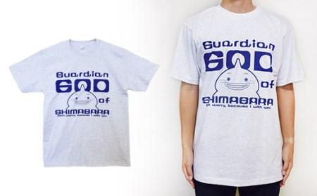 AD018島原守護神しまばらん Tシャツ(グレー)