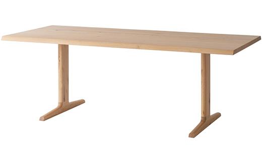 風のうた ダイニングテーブル〈2本脚〉 FX325WP《WO色》【01113】