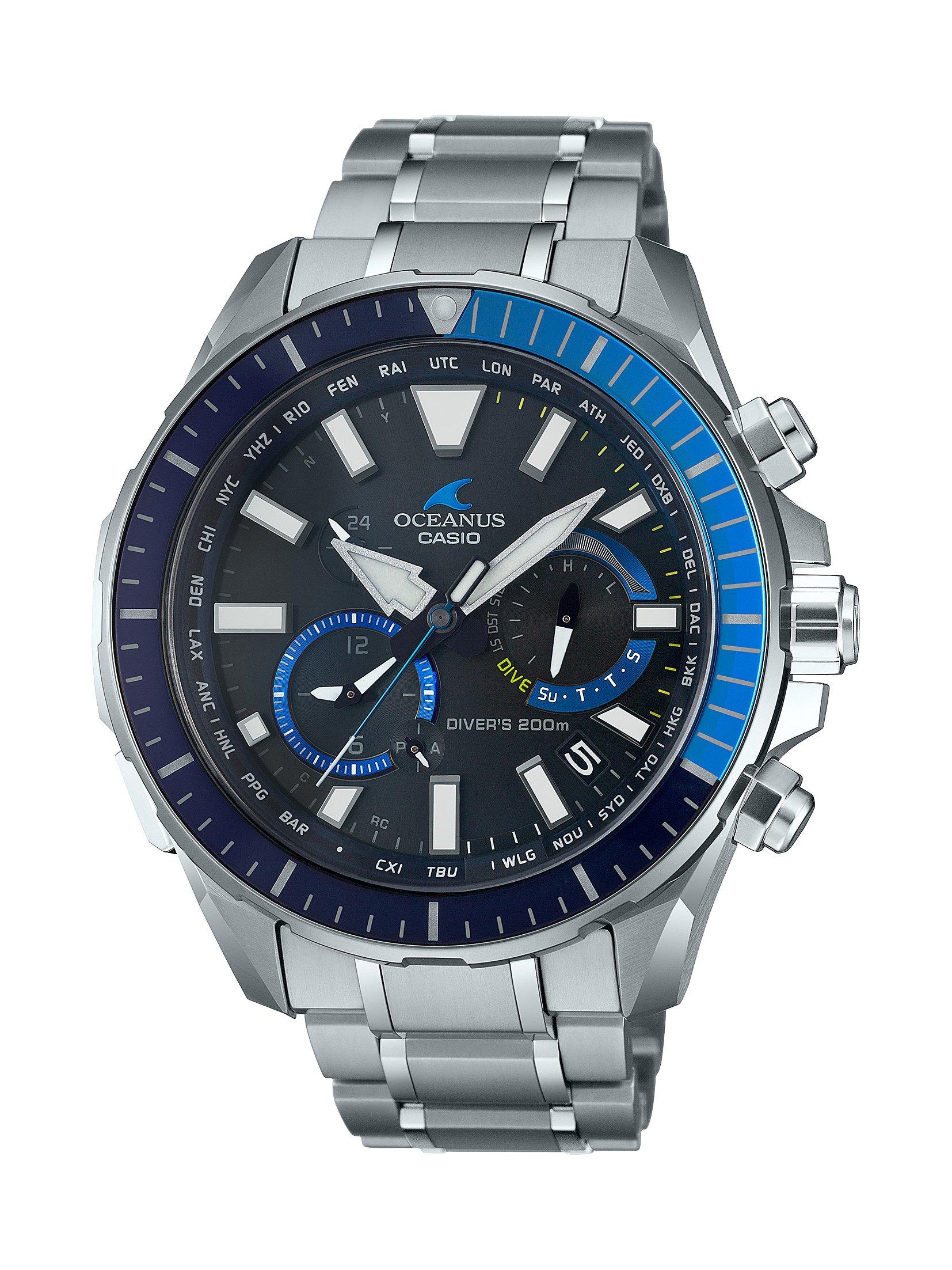 CASIO腕時計 OCEANUS OCW-P2000-1AJF C-0145