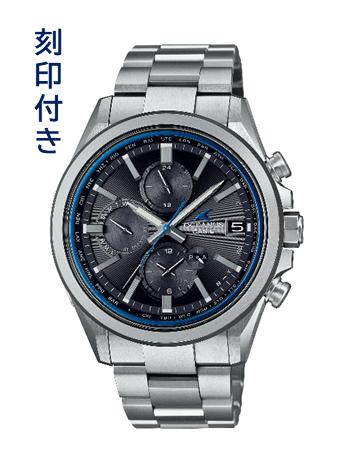 CASIO腕時計 OCEANUS OCW-T4000-1AJF≪刻印付き≫ C-0156