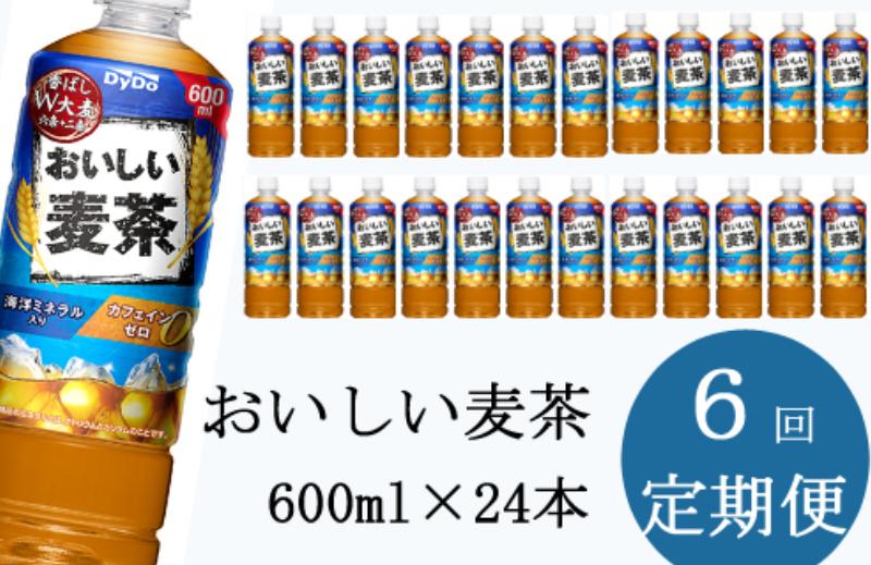 NM130おいしい麦茶600ml×24本【年6回定期便】