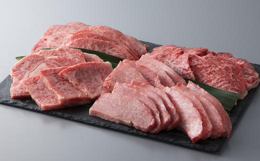 【A-028】大吉商店 近江牛焼肉用食べ比べセットB [高島屋選定品]