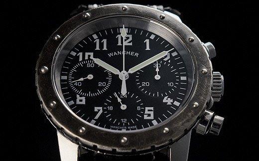 Q20-01 Nach+ 機械式手巻きクロノグラフ時計