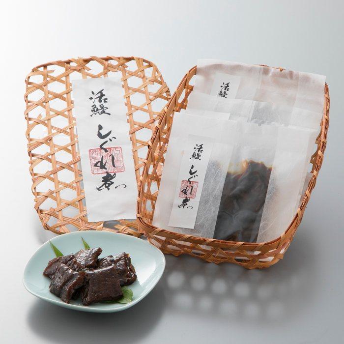 【B-747】近江高島鮎池元 吉本 鰻しぐれ煮個食3個セット [高島屋選定品]