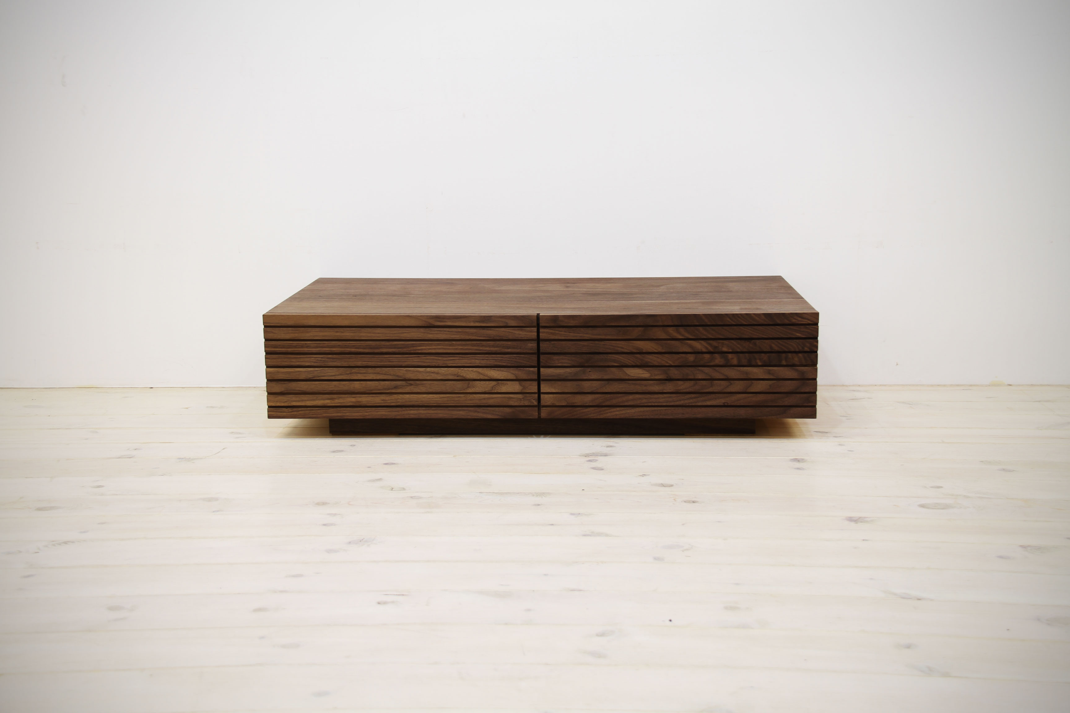 EL094_ 風雅  無垢材センターテーブル  ローテーブルW1000【開梱設置付き】ウォールナット[SK094]