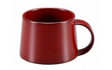 輪島塗 コーヒーカップ(大、本朱)