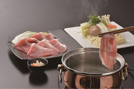 AA038清澄で豊潤な肉の旨味 舞豚セット