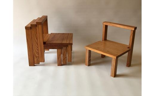 E1003こども椅子 3脚