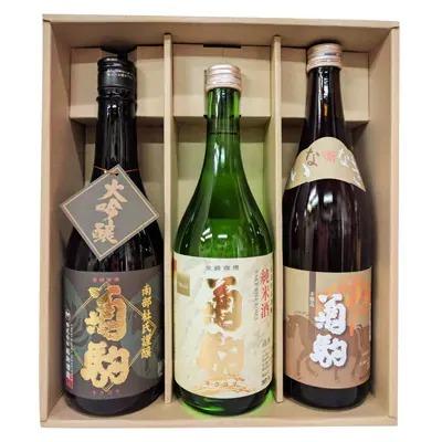菊駒 大吟醸・純米酒・いななきセット×2セット