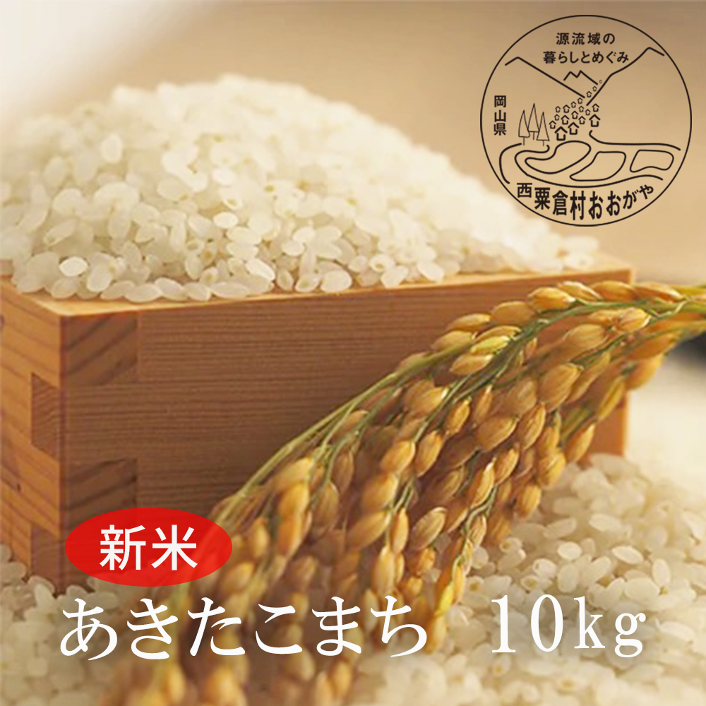 <令和3年産・新米>G32おおがや米 あきたこまち 白米10kg
