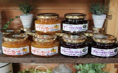 相模原市産農産物「さがみはらのめぐみ」のブルーベリーとゆずを使用したジャム&マーマレードセット!