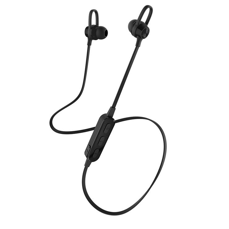 9-0099 簡単ワイヤレス接続 Bluetooth5 ワイヤレス ステレオ イヤホン(ブラック) OWL-BTEP07S-BK
