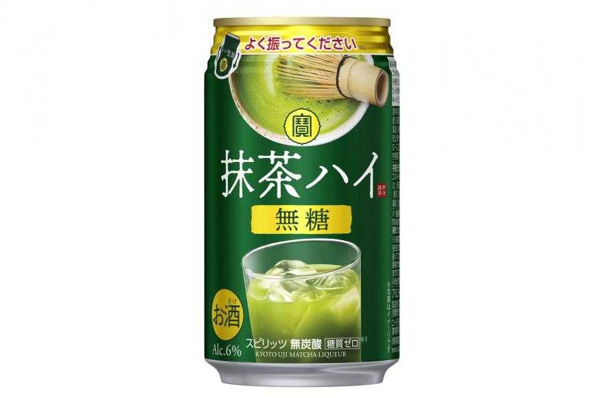AE132宝 抹茶ハイ(無糖) 350ml 24本入