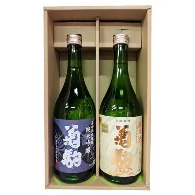 菊駒 純米吟醸・純米酒セット×4セット
