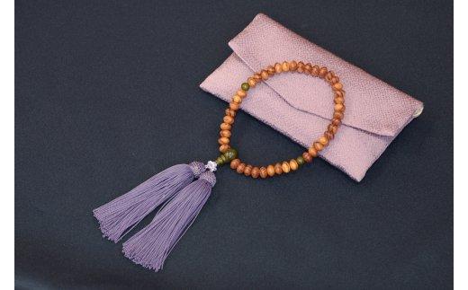 1400年の歴史を誇る近江の数珠職人が手掛けた念珠(女性用)【F002SM】