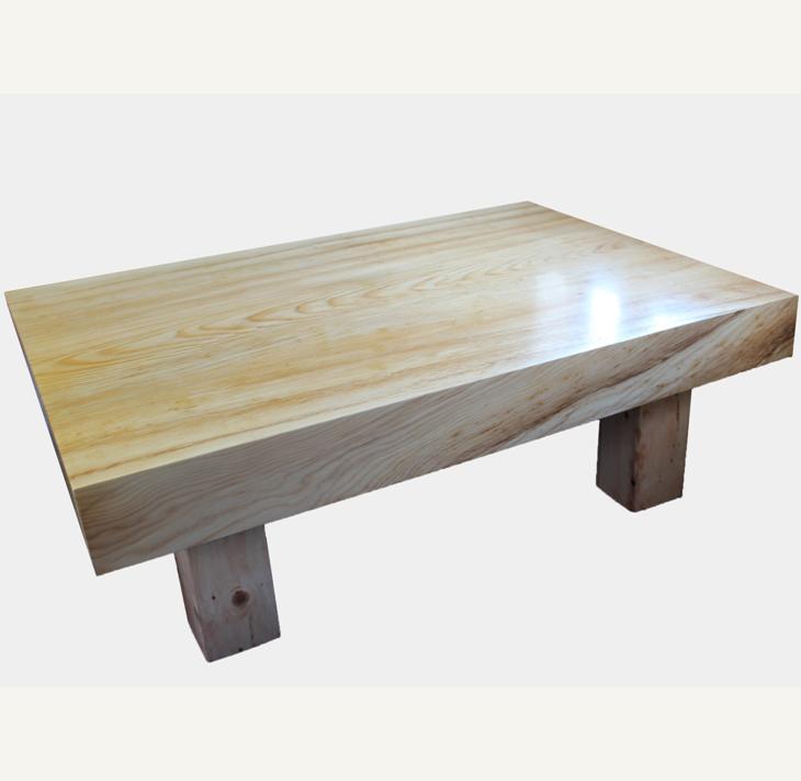座卓(テーブル)アカエゾマツ・一枚天板【厚さ約10cm】