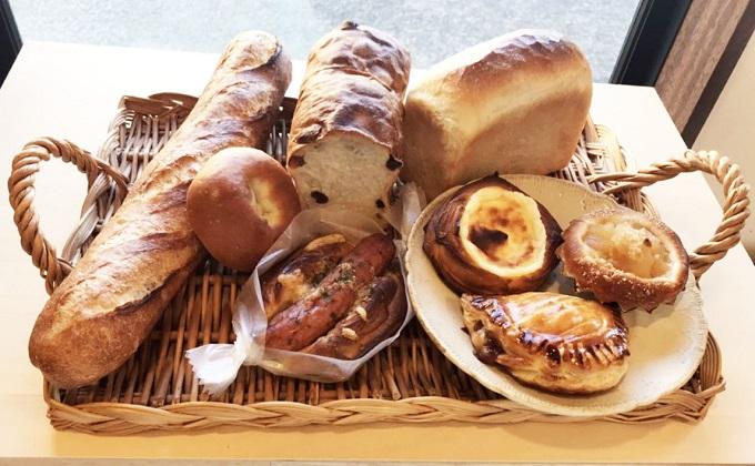 サンサンベーカリー パン購入券