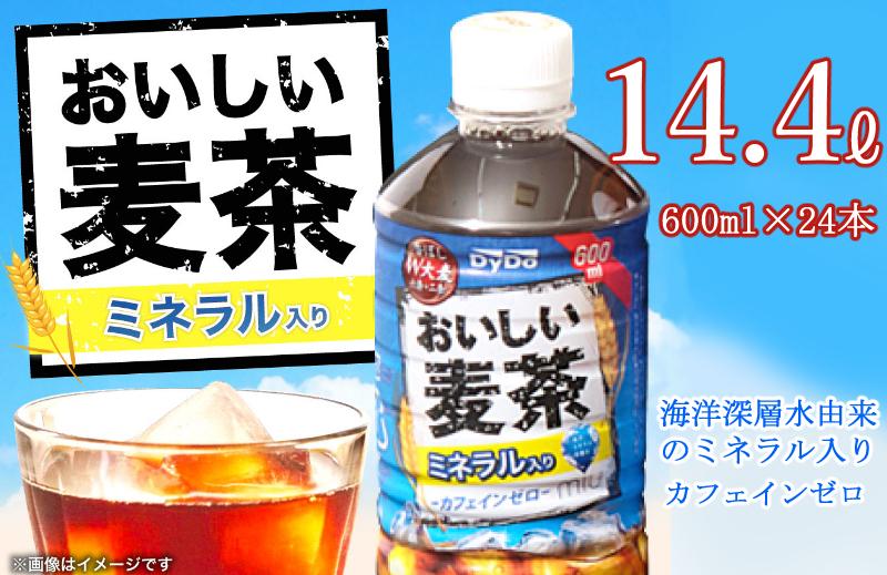 NM082G7おいしい麦茶600ml×24本