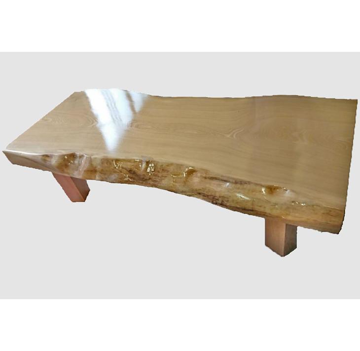 [28]座卓(テーブル)セン・一枚天板【厚さ約7cm】