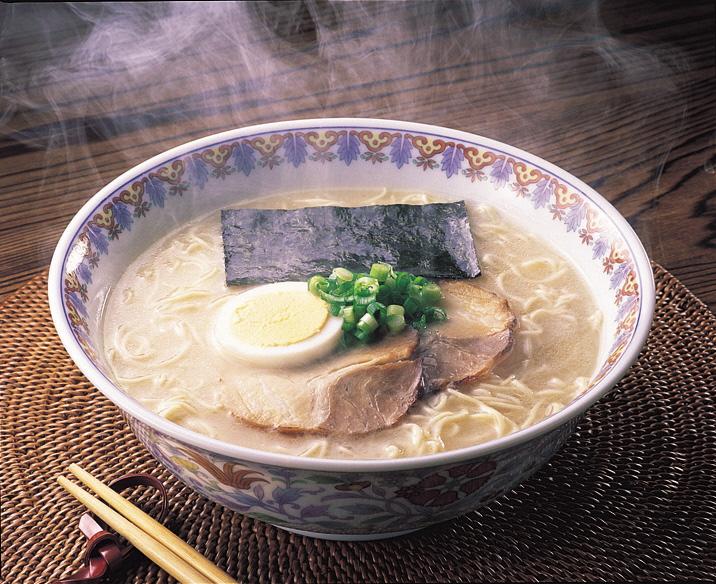 福岡県産ラー麦 生ラーメンとんこつ味 10食_PA0532