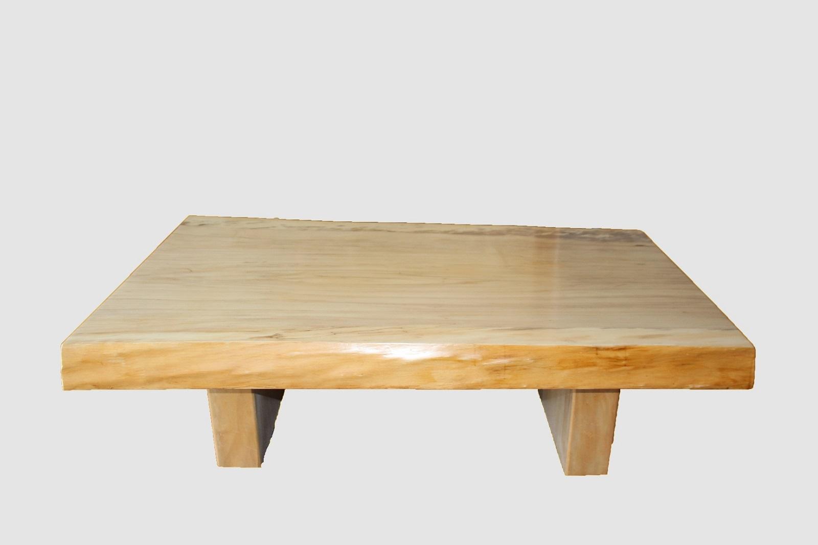 【52】座卓(テーブル)ポプラ・一枚天板【厚さ約8.0cm】