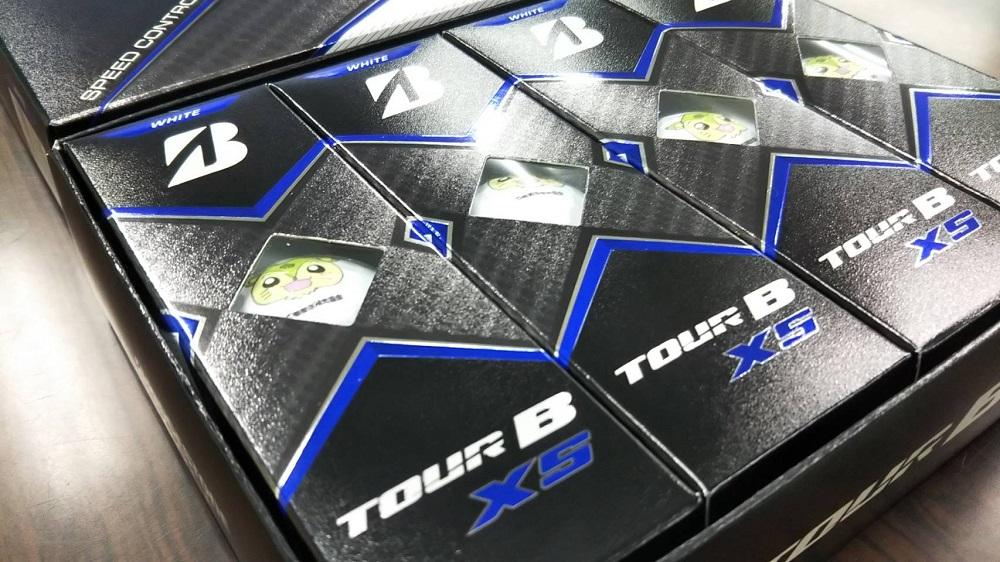 つるビーゴルフボール TOUR B XS