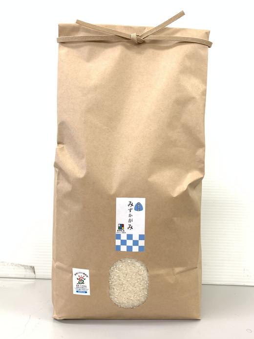 【新米】令和3年産 環境こだわり米「みずかがみ」白米【5㎏×1袋】【K124SM1】