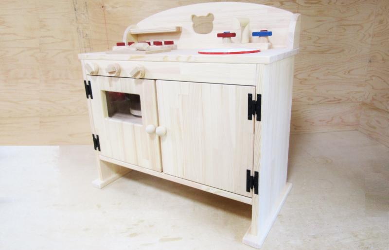 099H295 手作り木製 ままごとキッチン DHK-5