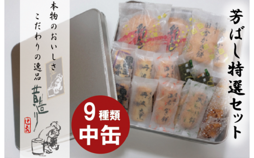 099H166 【ふるさと納税限定商品】芳ばし特選セット中缶