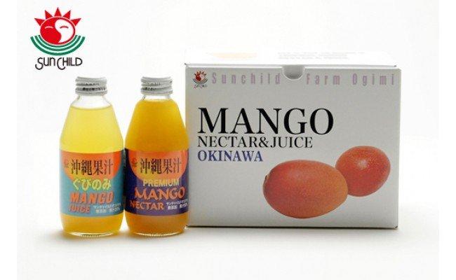 マンゴーネクター&ジュース 200ml 48本セット