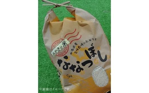 《令和3年産先行受付》三笠産のおいしい米 ななつぼし(8kg)【01092】