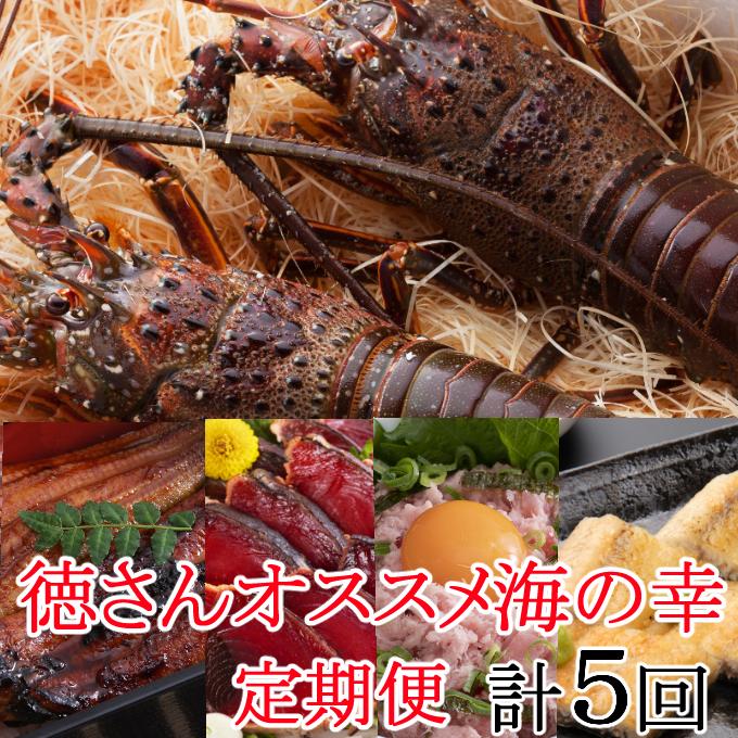 YJ082徳さんオススメ海の幸定期便【計5回】
