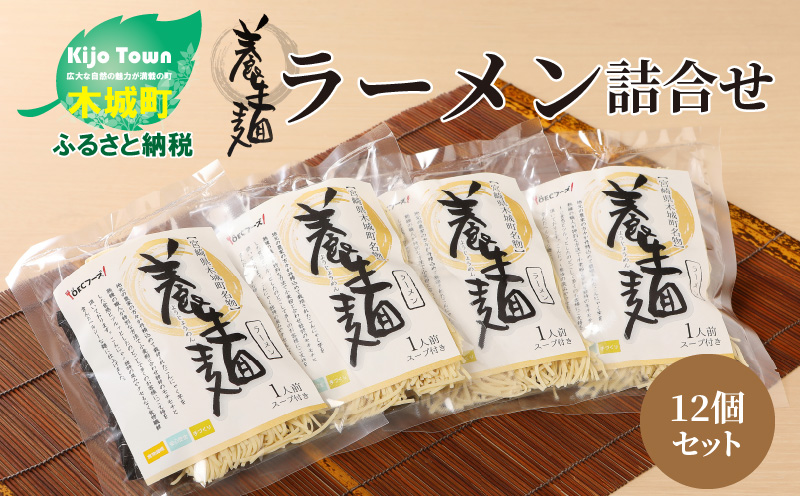 K10_0001 <養生麺ラーメン詰合せ 12袋入り>