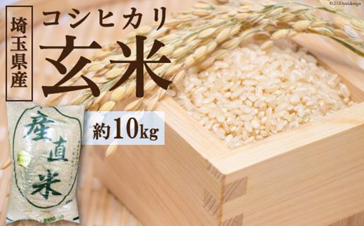 No.037 小川町産 コシヒカリ玄米 10kg