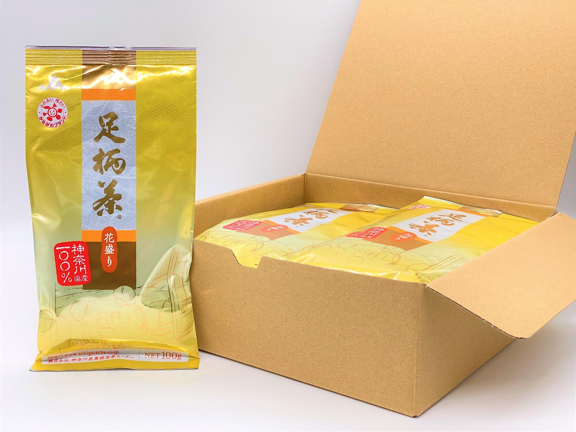足柄茶【最上級】花盛り1kg(100g×10本)