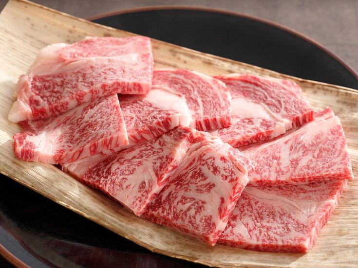 カネ吉山本 近江牛 焼肉用 リブロース 500g