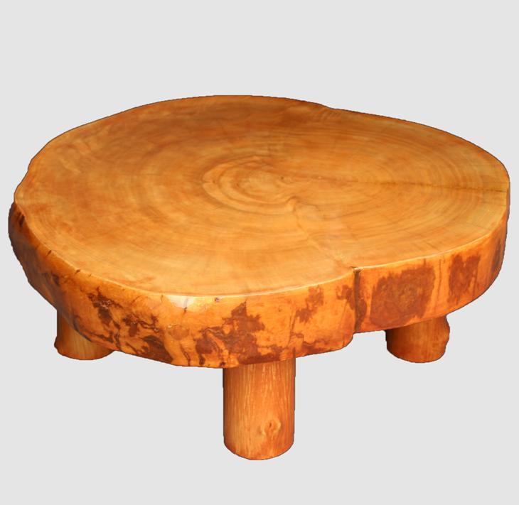 [19]座卓(テーブル)カバ・一枚天板【厚さ約10cm】