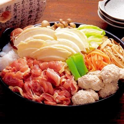 青森シャモロック せんべい汁セット(4人前)