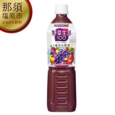 154-1017-02 カゴメ 野菜生活100(ベリーサラダ)720ml PET×15本